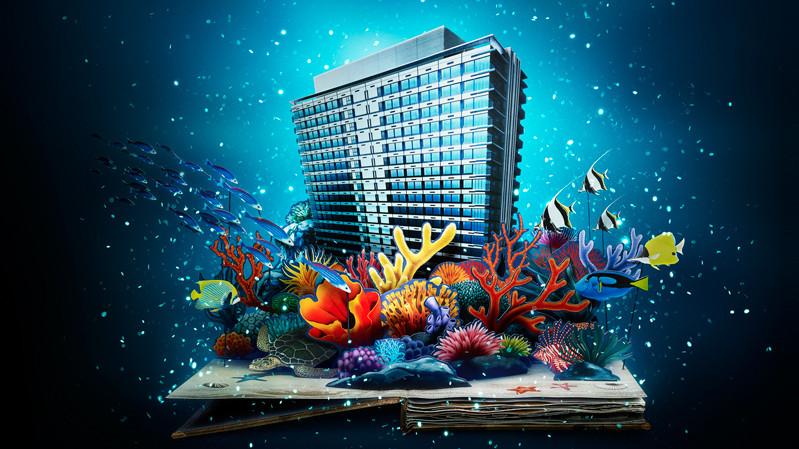 「東京ベイ東急ホテル」海のホテルの宝物 [ スチル撮影|2DCG|グラフィックデザイン|TVCM/ムービー撮影 ]