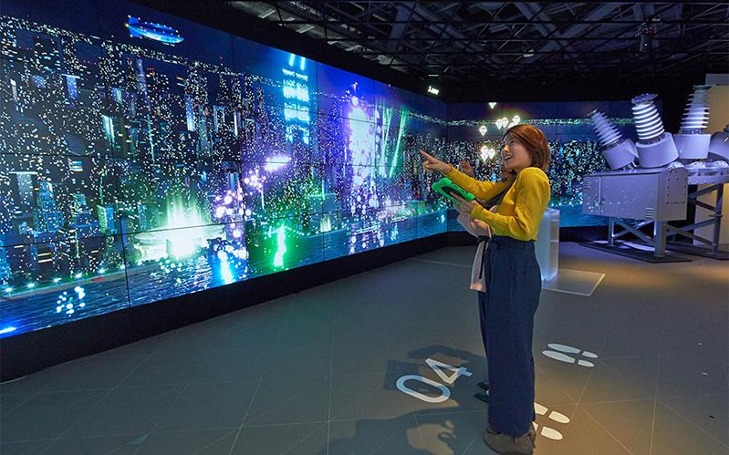 三菱電機 <br>64面ディスプレイMEToA VISION「Twinkle City」 [ 3DCG|TVCM/ムービー撮影 ]