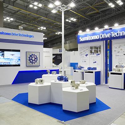 「第13回国際物流総合展2018」住友重機械工業展示ブース
