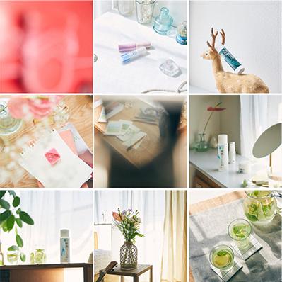 ロート製薬 Instagramビジュアルリモート撮影