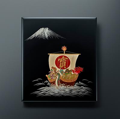 パイロット 創立100周年記念万年筆「七福神」