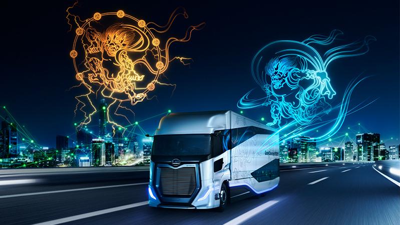 UDトラックス「Innovation for Smart Logistics」VI開発 [ 2DCG|3DCG|グラフィックデザイン|TVCM/ムービー撮影 ]